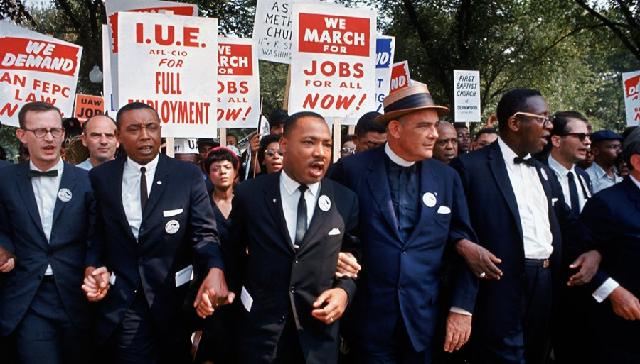 Los movimientos de los derechos civiles de la población negra en Estados Unidos