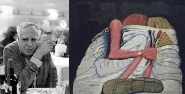 A 40 años de la muerte del pintor Philip Guston