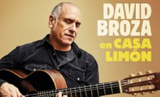 David Broza: instrumental de guitarra en Casa Limón