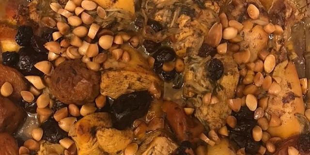 Tajín de pollo estilo marroquí
