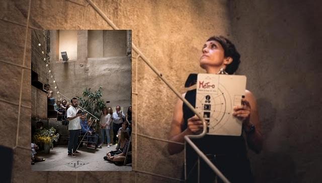 """La poesía teatralizada de """"Metro – Poemas de fuera de casa"""", con Rafael Azran y Judith Navarro"""