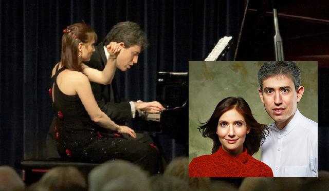 En blanco y negro, de Debussy, por los pianistas israelíes Sivan Silver y Gil Garburg