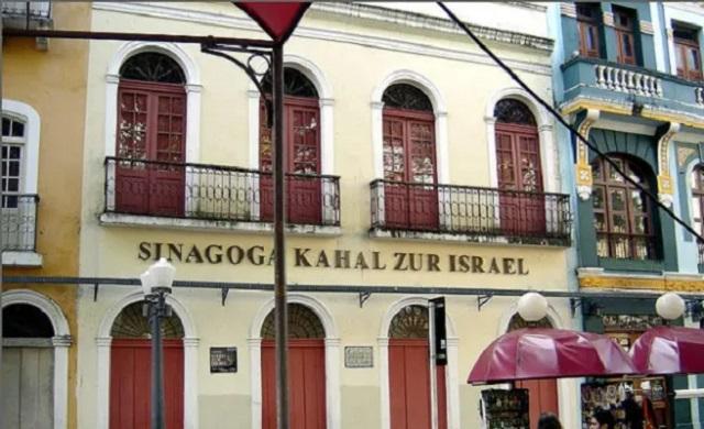 La primera sinagoga en el continente americano
