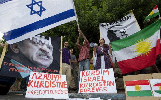 El dilema kurdo e Israel