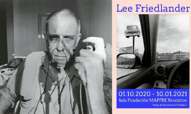 La Fundación Mapfre presenta en Madrid la exposición del fotógrafo Lee Friedlander