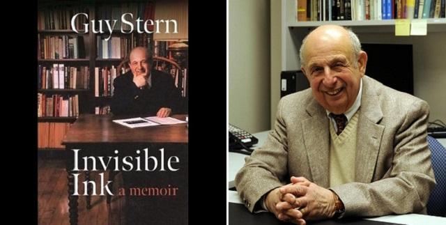 """Guy Stern: """"Invisible Ink"""" Made Visible"""