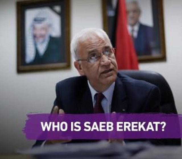 Saeb Erekat: un héroe para los medios de comunicación