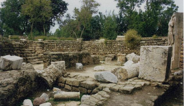 La ciudad antigua de Ashkelon, puerto del Mediterráneo