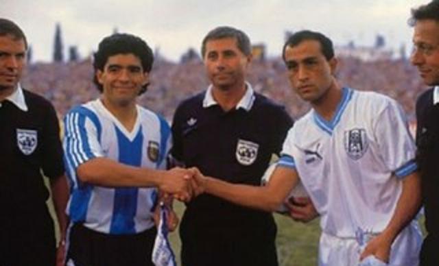Cuando Maradona jugó en Israel