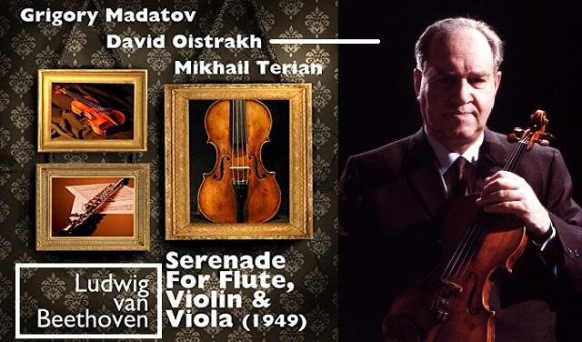Beethoven 250: David Oistrakh y la Serenata para flauta, violín y viola, opus 25