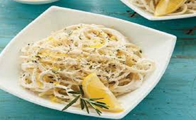 Pasta casher al limón o con verduras