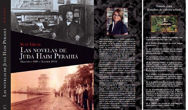 "Susy Gruss y ""Las novelas de Judá Haim Perahiá (Salónica 1886 – Xanthi)"""