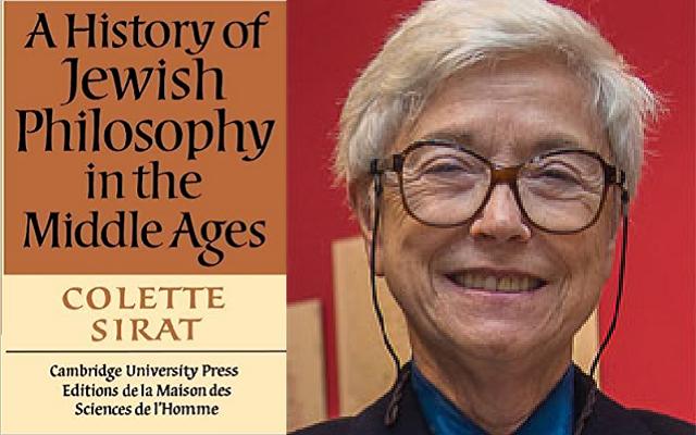 Una historia de la filosofía judía de la Edad Media, de Colette Sirat