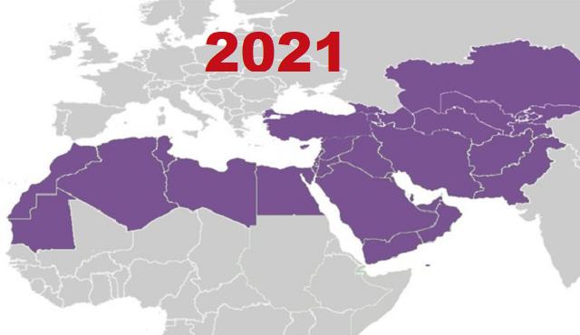 Medio Oriente y Magreb 2021 (1ª parte)