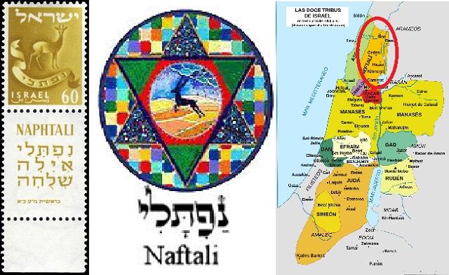 Naftali: hijo de Bilá, producto de la lucha entre Raquel y Lea