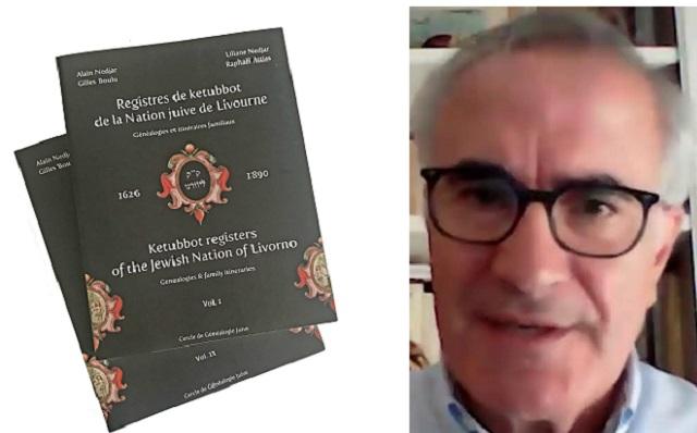 Los registros de ketubot de Livorno del siglo XVII al XIX, con Alain Nedjar