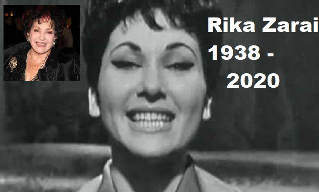 Adiós a la voz eterna de Rika Zarai Z'L