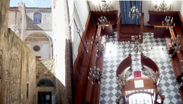La sinagoga de Pitigliano, en judeoespañol, desde el Cidicsef de Buenos Aires