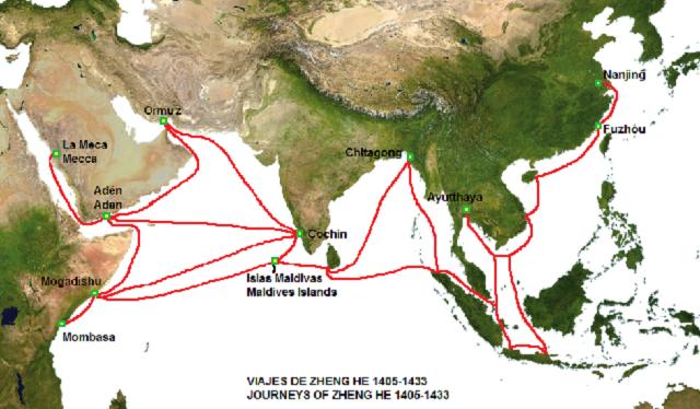 Colonialismo e imperialismo en el Oriente (5ª parte): los viajes de China
