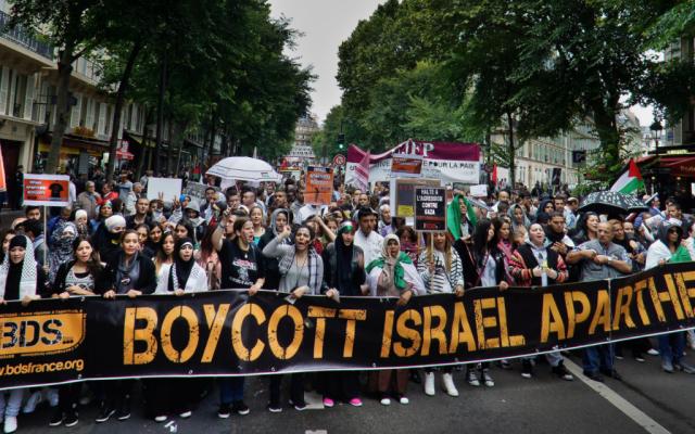 Apoyo francés a promover el odio a Israel