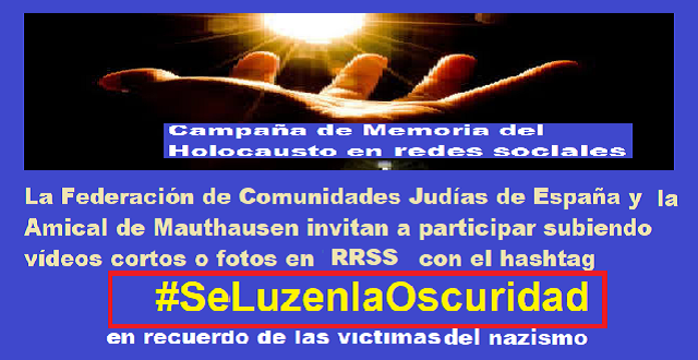 #SeLuzenlaOscuridad: la campaña en redes sociales, con Concepción Díaz Berzosa
