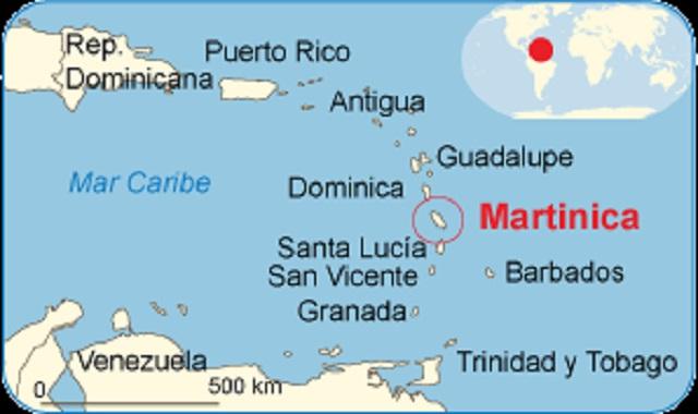 De Ámsterdam a Martinica y Guadalupe