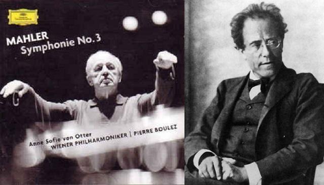 La Tercera Sinfonía por Pierre Boulez, Anne Sofie von Otter y la Filarmónica de Viena