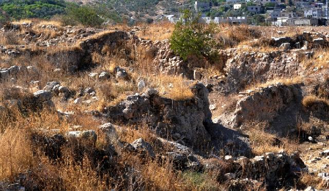 La ciudad bíblica de Tirzah