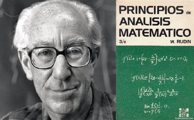 Walter Rudin: matemáticas y libros de texto