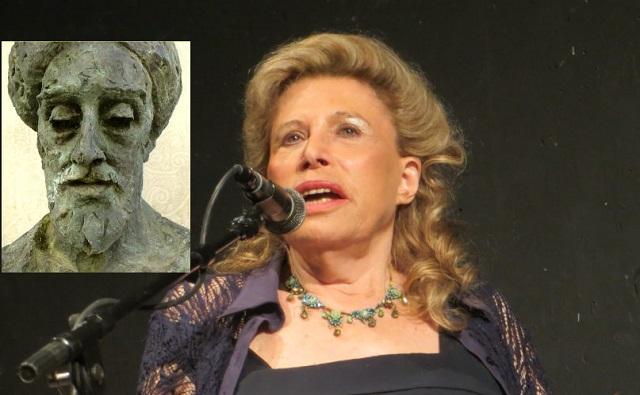 El poeta humanista, con Aviva Doron
