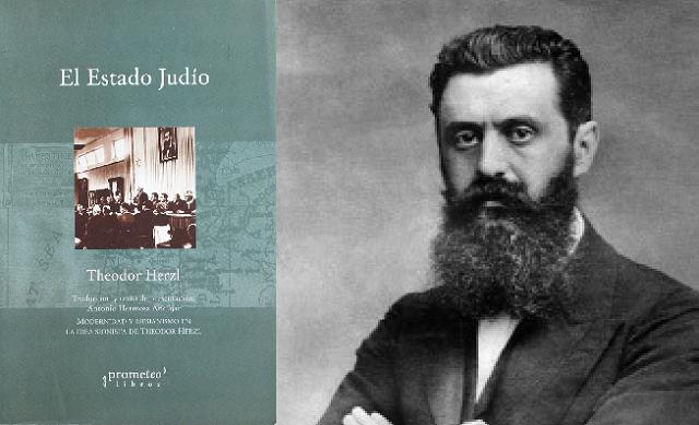 """""""El Estado Judío"""", de Theodor Herzl"""