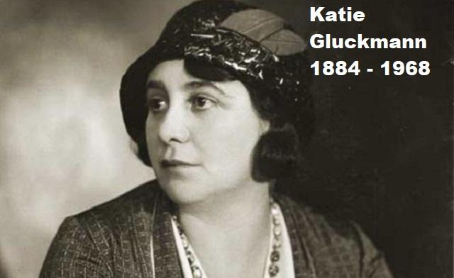Katie Gluckmann, dirigente sionista de Sudáfrica