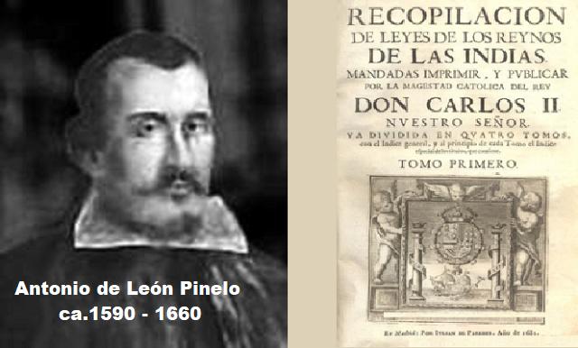Antonio de León Pinelo: el Paraíso en el nuevo continente