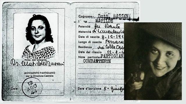 Matilde Bassani Finzi, activista y resistente italiana