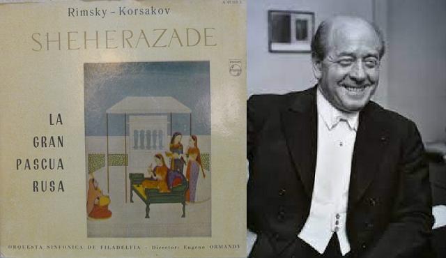 La Gran Pascua Rusa de Rimsky-Korsakov, dirigida por Eugene Ormandy