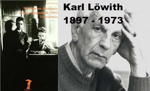 Mi vida en Alemania antes y después de 1933, de Karl Lowith