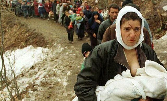 La limpieza étnica en la guerra de Yugoslavia