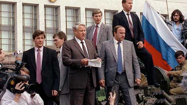 El golpe contra Gorbachov en 1991