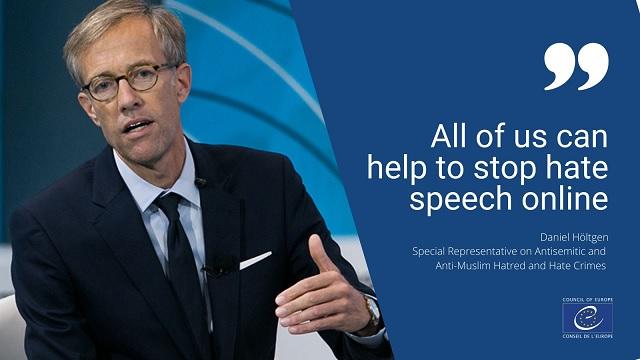 Daniel Höltgen: Council of Europe's First Special Representative on Religious Intolerance