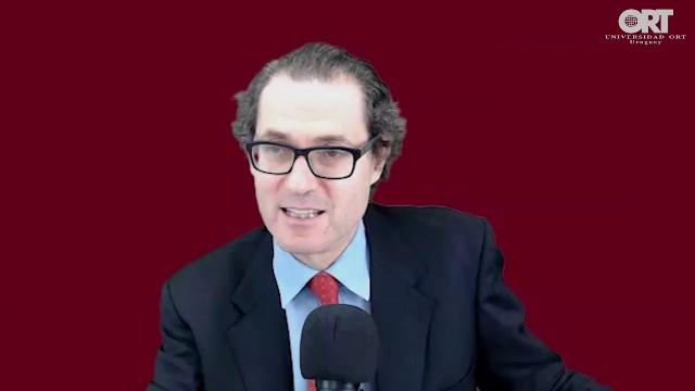 El antisemitismo frente al Derecho, con  Jonas Bergstein (online, Universidad ORT Uruguay, 20/11/2020)