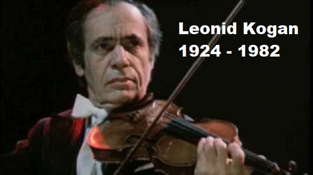 Leonid Kogan interpreta el Concierto Nº5 para violín y orquesta de Henri Vieuxtemps