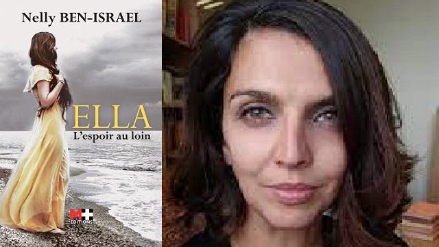 """""""Ella, l'espoir au loin"""", le premier roman de Nelly Ben-Israel"""