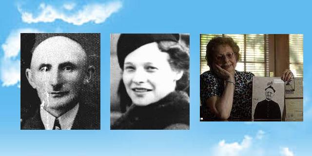 En nuestra memoria Isadore Frenkiel, y las supervivientes Hildegard ( Hilda ) Krakauerova y Eva Rapaport