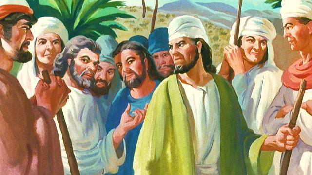 Datan y Abiram, los hijos de Eliab