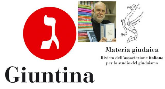 La revista Materia Giudaica y la editorial Giuntina