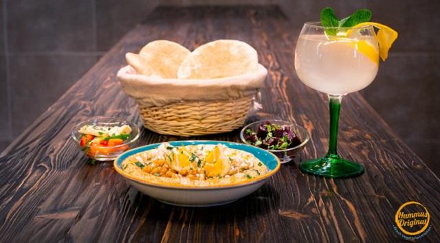 """Regev Maimon y su """"Hummus Original"""""""