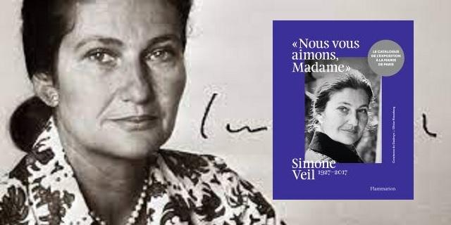 """""""Nous Vous Aimons, Madame"""", homenaje a Simone Veil en París"""