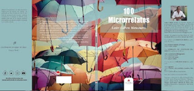 """""""100 microrrelatos"""", con su autor León Cohen Mesonero"""