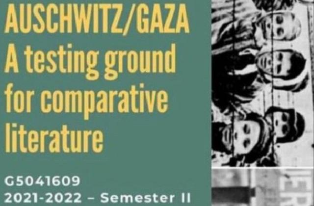 Una comparativa desorbitada: Auschwitz – Gaza