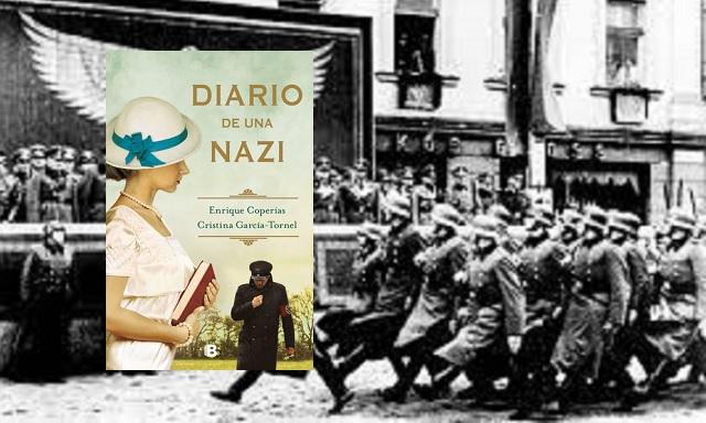 """""""Diario de una nazi"""", con sus autores Enrique Coperías y Cristina García-Tornel"""